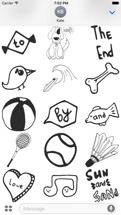Summer Doodles screenshot-3