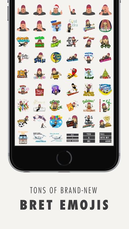 Bret Michaels Emojis + Lyric Keyboard