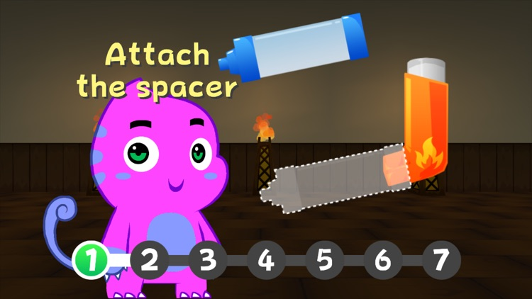 Wizdy Pets - Kids asthma game screenshot-1