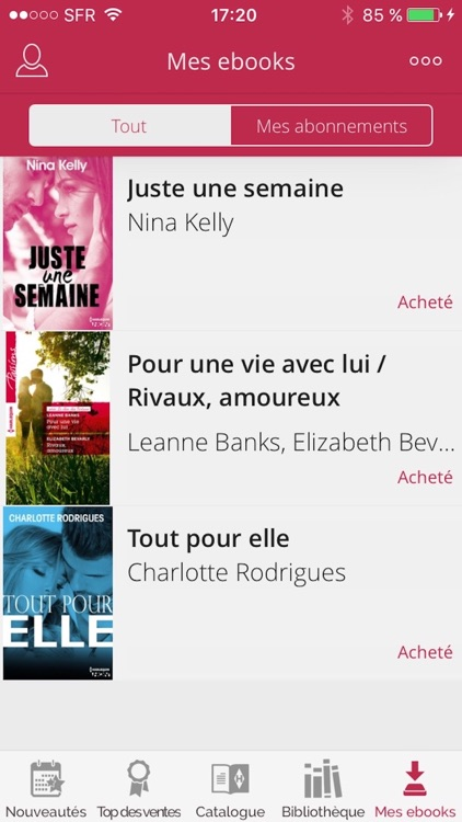 Harlequin : ebooks et romance screenshot-3