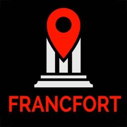 Francfort Guide Voyage & Carte Offline