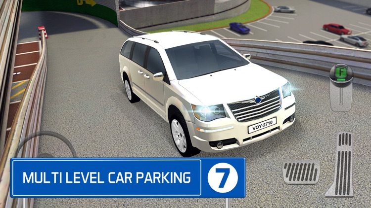 Multi Level 7 Car Parking Garage Park Training Lot screenshot-0