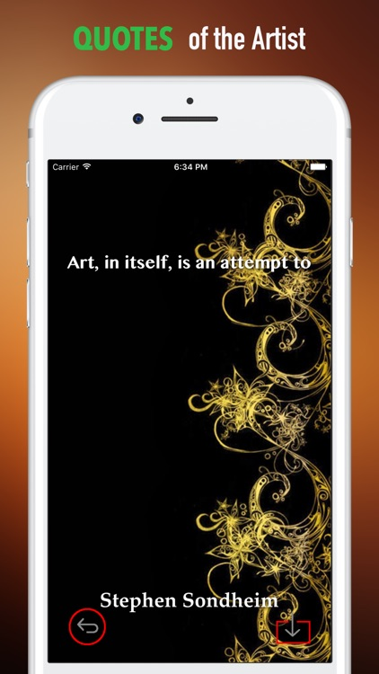 Black and Gold Wallpapers HD- Quotes and Art screenshot-3