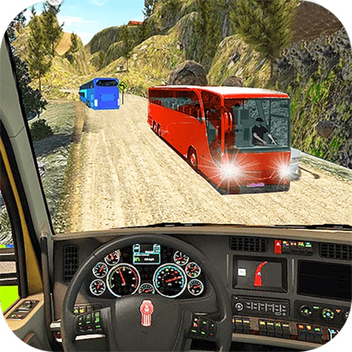Off-Road Desert Bus Drive : 3D Parking Simulator