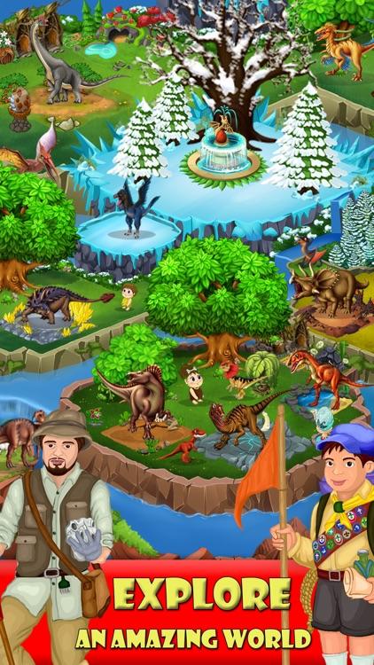 DINO ZOO - Jurassic Dinosaur world Fighting games screenshot-4