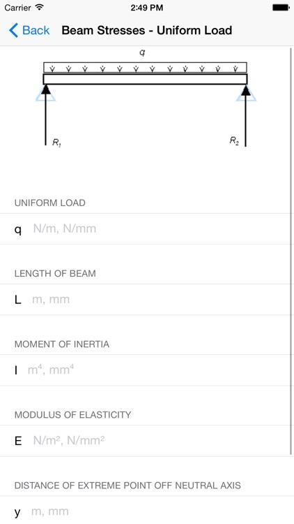 Mechanics Calculators - Mechanical Engineers screenshot-3