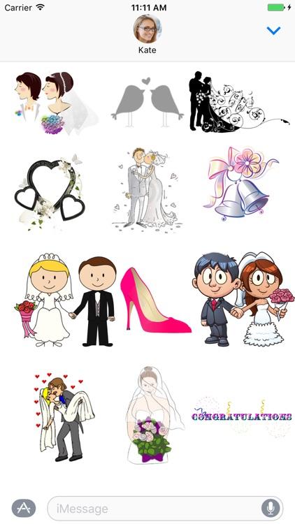 Wedding Celebration Sticker pack