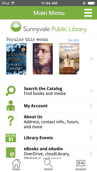 Sunnyvale Public LibraryScreenshot of 1