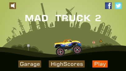 Screenshot #1 pour Mad Truck 2 -- Driving Survive