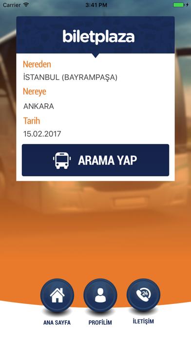 Bilet Plaza - Otobus, Ucak Bileti