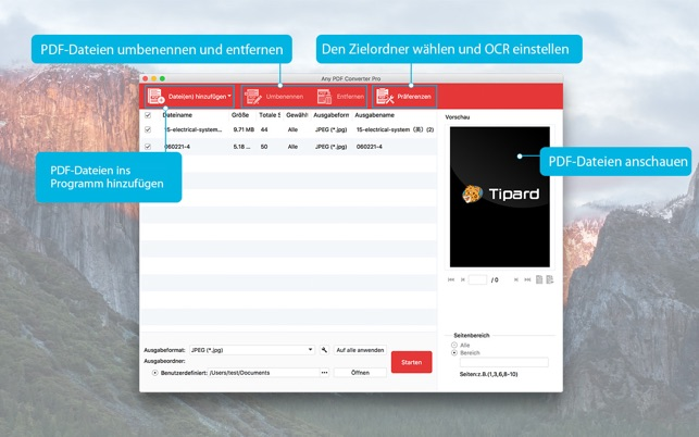 Any PDF Converter Pro Screenshot