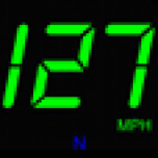JustSpeedHD Large GPS Speedometer with H.U.D.