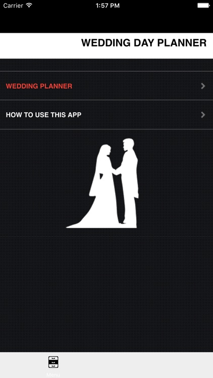Wedding Planner for Walking Down the Isle