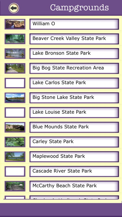 Minnesota Camping & Hiking Trails,State Parks