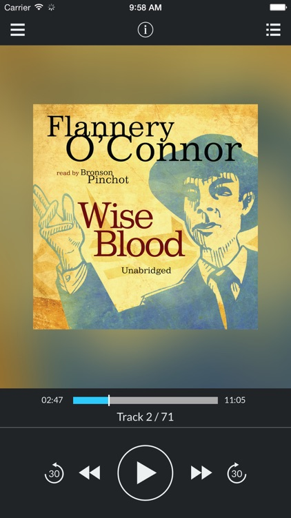 Wise Blood (by Flannery O' Connor)