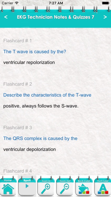 Electrocardiogram Technician EKG Exam 5100 Quiz screenshot-4