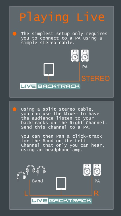 Live Backing Track : Multitrack Live Play screenshot-4