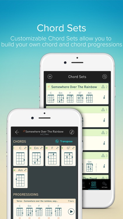 Ukulele Toolkit - Tools of Tuner and Chord for Uke screenshot-3