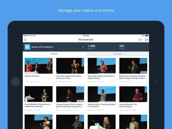 Ustream screenshot