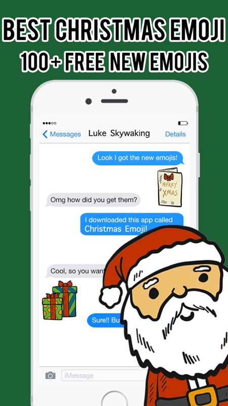 Christmas Emoji - Stickers Messenger Keyboard Pro - Online