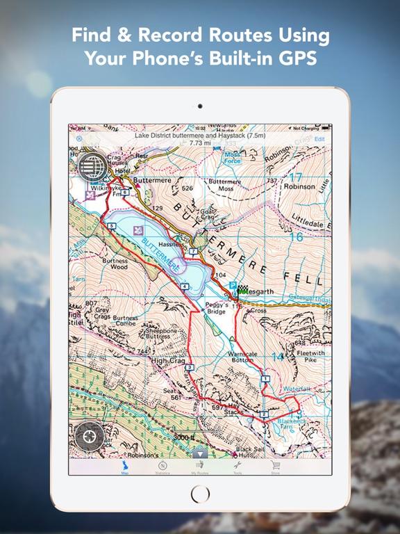 Outdoors GPS – Offline OS Maps Скриншоты8