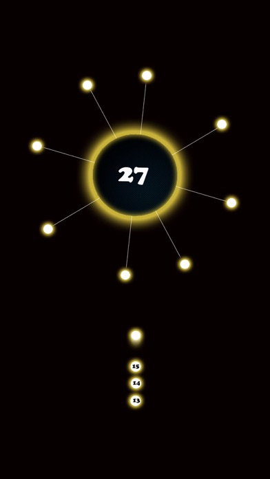 Blasty Dots, Faily Dots Deep Ring Shot Screenshot on iOS
