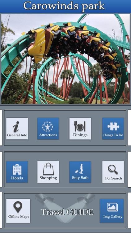 The Great App For Carowinds Amusement park