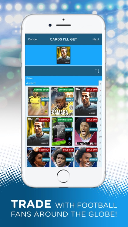 KICK: Official Football Card Trader screenshot-3