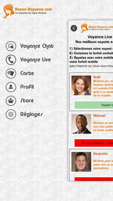 Screenshot #2 pour K-Voyance : la voyance en ligne réussie