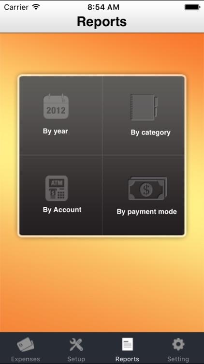 iExpenses - Track Expenses PRO screenshot-4