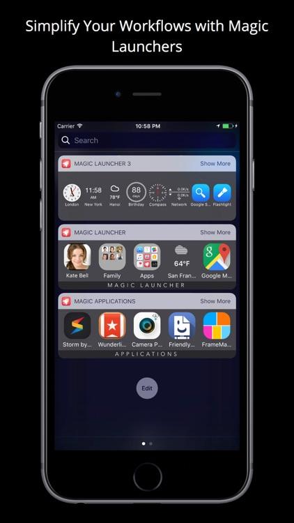 Magic Launcher Pro screenshot-3