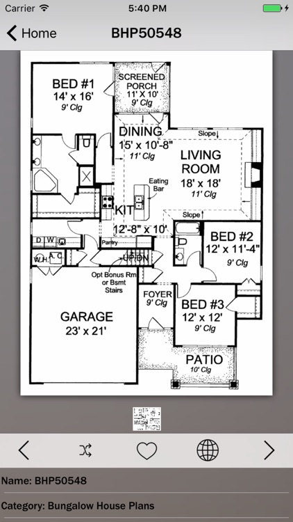 Bungalow House Plans Guide! screenshot-0