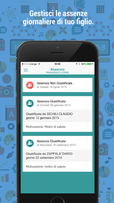 Screenshot of OmniaLUX: scuola in un click1