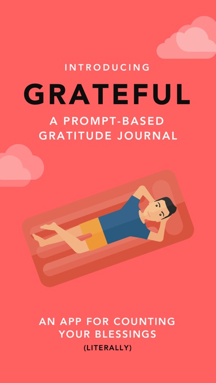 Grateful: A Gratitude Journal & Private Diary