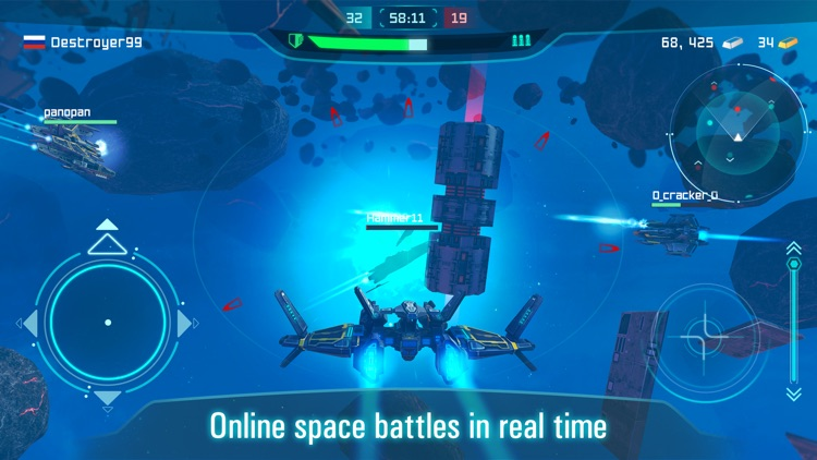Space Jet: War Galaxy Machines screenshot-0