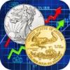 金銀スポット金属価格マーケット値算出