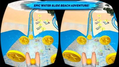VR Beach Water Sliding - Water stunt & ride Pro screenshot one