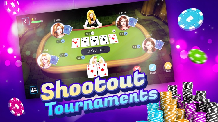 TEXAS HOLDEM POKER ONLINE+ screenshot-0
