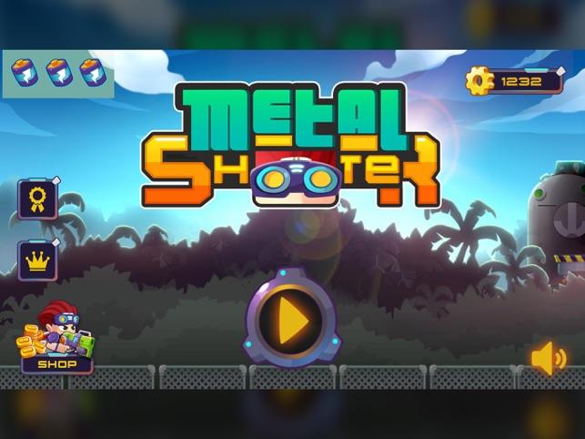 Metal Shooter: Run and Gun