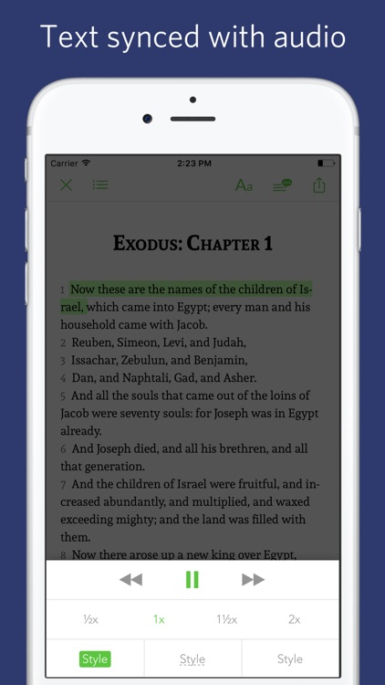 King James Bible - sync transcript