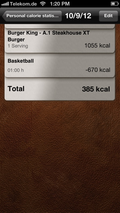 Calorie-Calculator screenshot-3