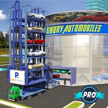 多级汽车运输卡车驾驶游戏
