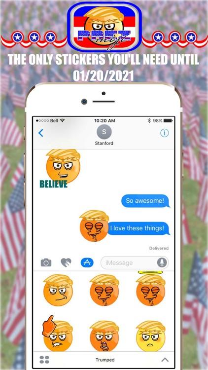 Prez Emoji Stickers – Donald Trump Edition