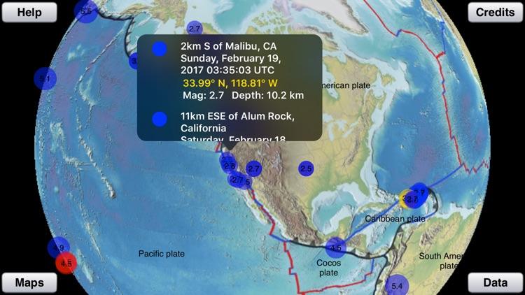 Earthquake Finder screenshot-3