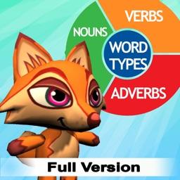 Word Types Grammar Practice for Elementary School