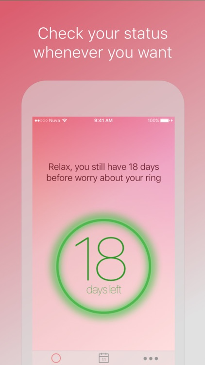 Contraceptive Ring Tracker screenshot-2