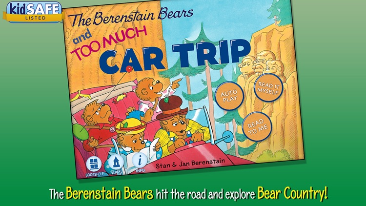 The Berenstain Bears and Too Much Car Trip screenshot-0