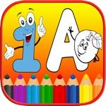123 ABC Alphabet Kids Coloring Book Free - Phonics