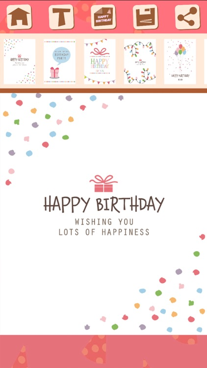 Birthday greeting cards and stickers – Pro screenshot-4