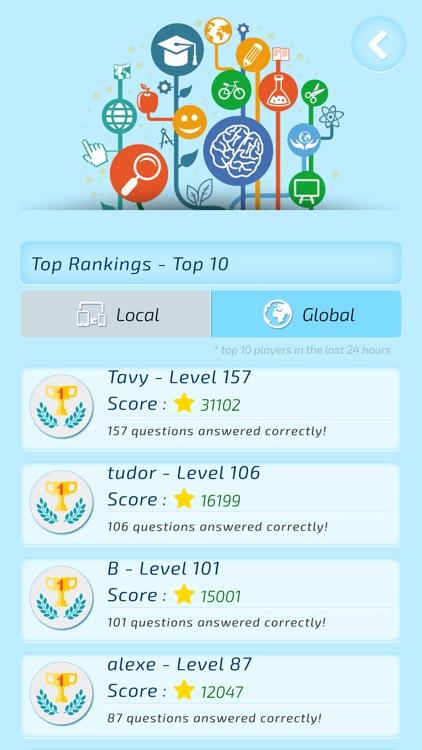 Intelligent - General Knowledge Trivia screenshot-4
